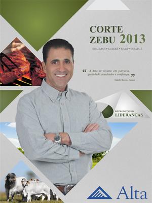 CATÁLOGO ALTA CORTE ZEBU 2013