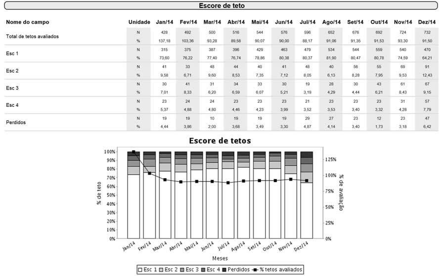 Exemplo do Relatório IDEAGRI