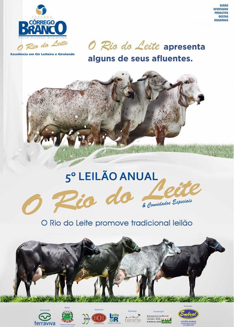 Leilão Anual Rio do Leite e Convidados Especiais